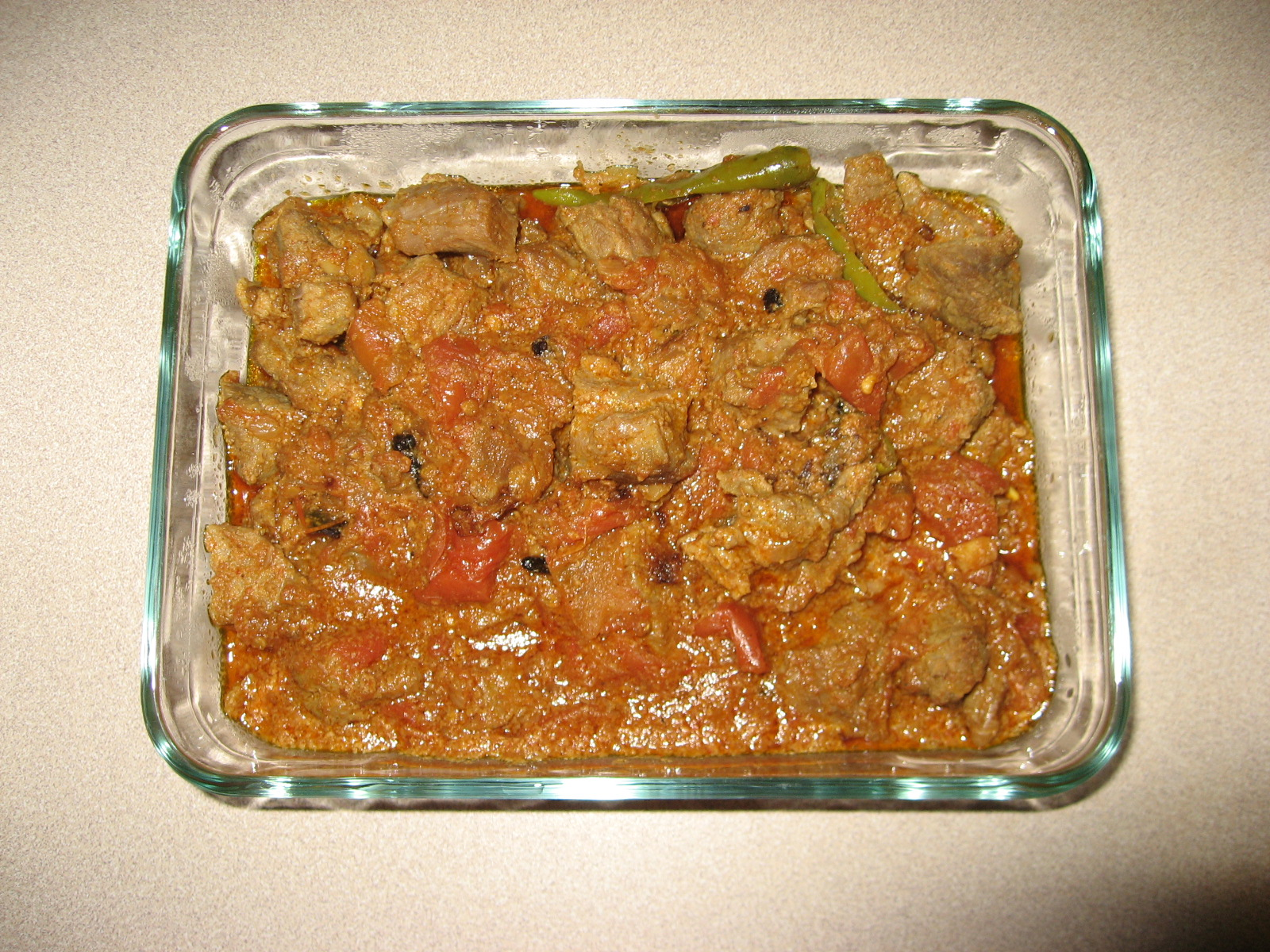 Tomato Lamb Curry picture
